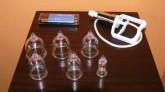 Masážní baňky ventilové z plastu