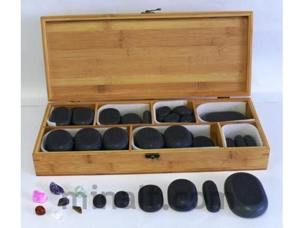 Lávové kameny - sada 64 ks